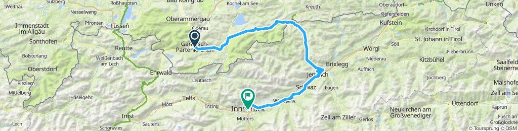 Alpen Tour 20 Tag 1