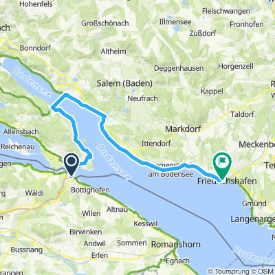 Konstanz - Friedrichshafen