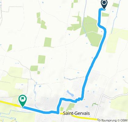 Itinéraire confortable en Saint-Gervais
