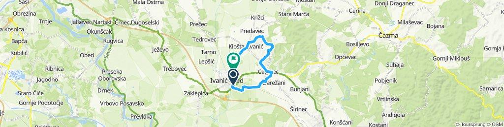 Slow ride in Ivanić Grad