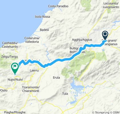 Sardegna Tour - Tappa 2: da Luras a Nulvi