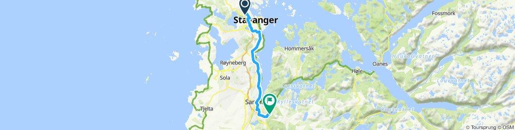 🚴🏻♂️ route in Sandnes/Stavanger