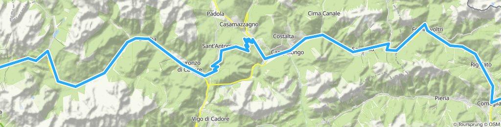 K 9/12 Ravascletto to Cortina d'Ampezzo