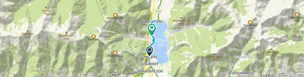 Relaxed route in Zell am See