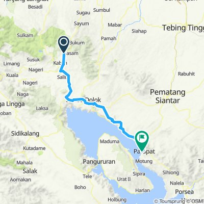 Sumatra-Java-Bali 03, Indonesien, Brastagi - Parapat, 115 km