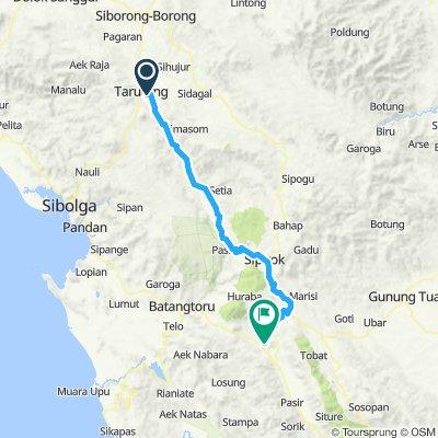 Sumatra-Java-Bali 04, Indonesien, Parapat - Tarutung, 115 km
