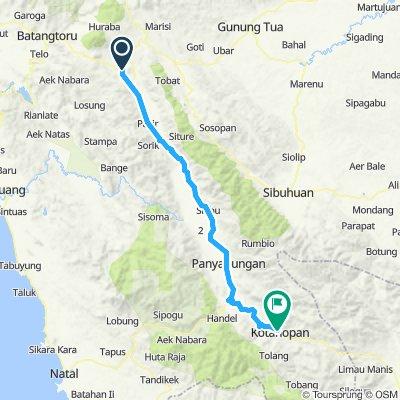 Sumatra-Java-Bali 06, Indonesien, Padang Sidempuan - Kota Nopan, 115 km