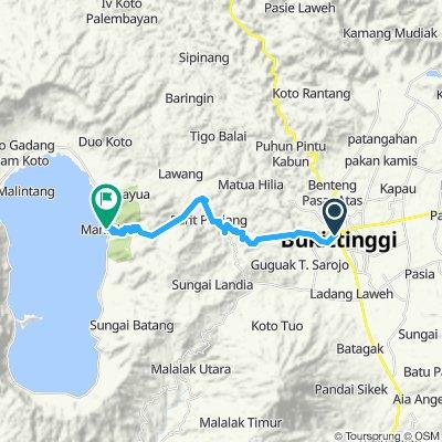 Sumatra-Java-Bali 08, Indonesien, Bukittinggi - Maninjau, 30 km