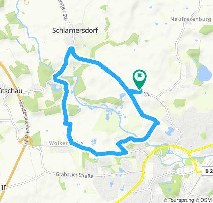 Gemütliche Route Nütschau