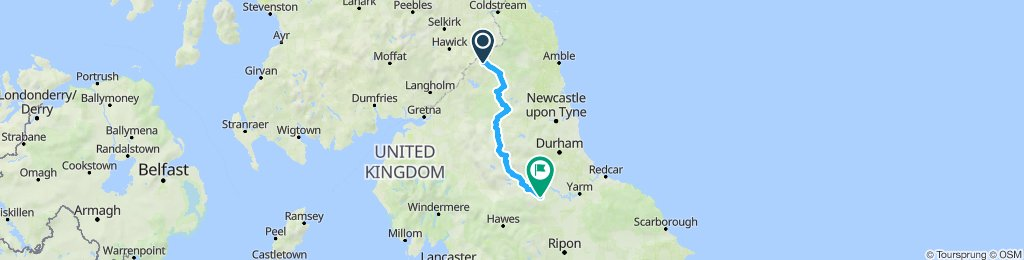Tour de Wielka Brytania & Irlandia 2019 dzień 17