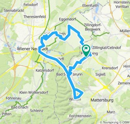Gemütliche Route in Pöttsching