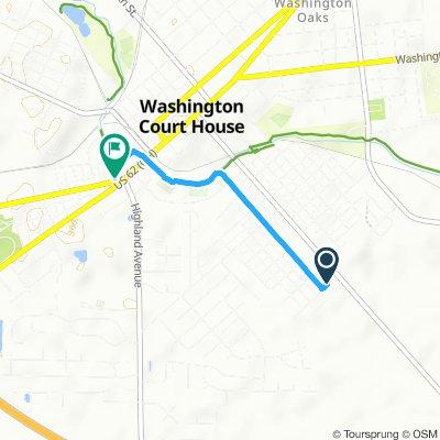 Steady ride in Washington Court House