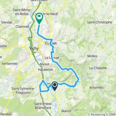 Saint-Yorre Cycling