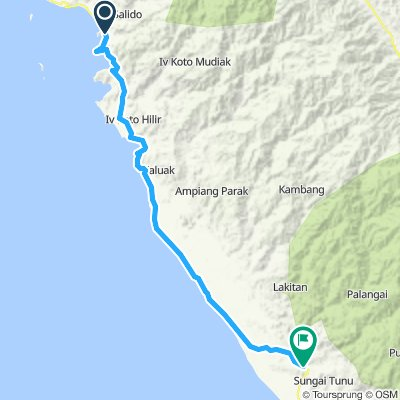 Sumatra-Java-Bali 11, Indonesien, Painan - Balai Selasa, 75 km