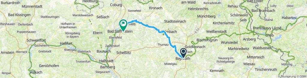 Bayreuth  a bad staffelstein du 18 au 19