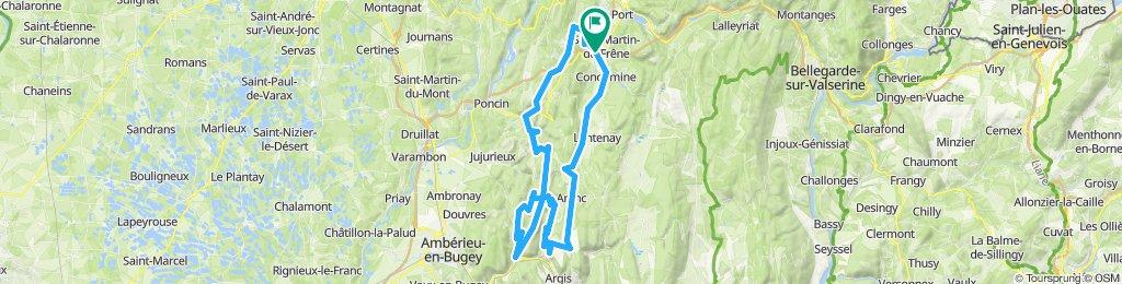 Maillat - Monts de l'Ain