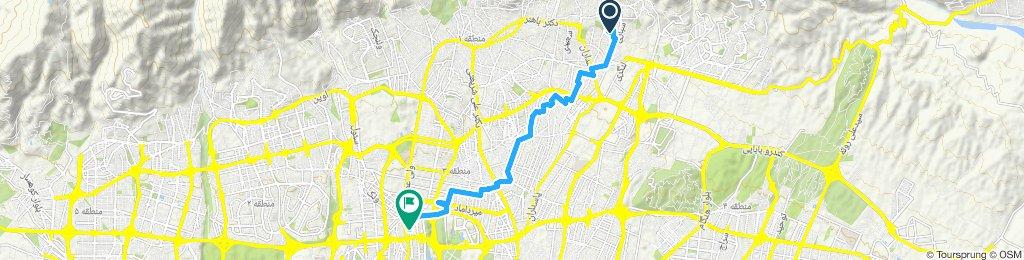 Steady ride in Tehran