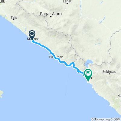 Sumatra-Java-Bali 16, Indonesien, Manna - Krui, 190 km