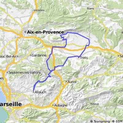 allauch-Rousset-Cengle-Pourrières