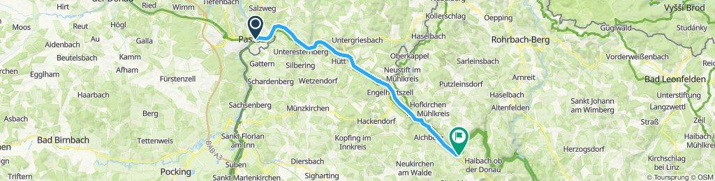 Tag 1 - 1. Passau-Schlögen