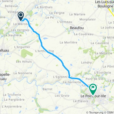 Steady ride in Le Poiré-sur-Vie