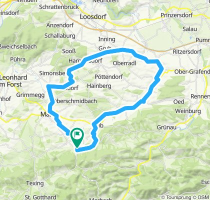 Kettenreith-Alpenvorland-Meridian-Runde