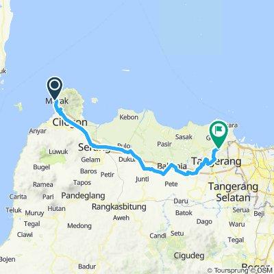 Sumatra-Java-Bali 20, Indonesien, Merak - Jakarta Airport, 110 km