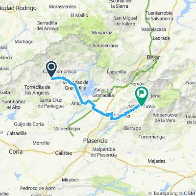 2020-2 opción -4B etapa-Pinofranqueado-Mohedas-Villar-El Torno-Cabezuela-Navaconcejo