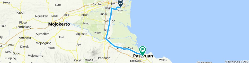 Sumatra-Java-Bali 21, Indonesien, Surabaya Airport - Pasuruan, 53 km