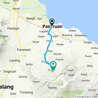Sumatra-Java-Bali 22, Indonesien, Pasuruan - Wonokitri, 43 km