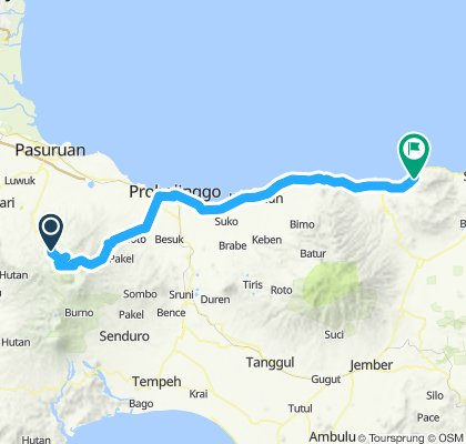 Sumatra-Java-Bali 23, Indonesien, Wonokitri - Pasir Putih, 135 km