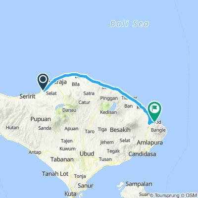 Sumatra-Java-Bali 26, Indonesien, Lovina - Amed, 86 km