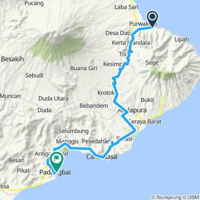 Sumatra-Java-Bali 27, Indonesien, Amed - Padangbai, 46 km