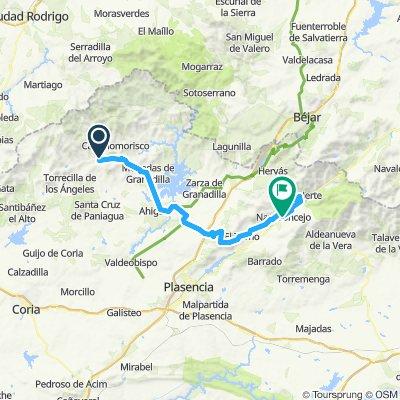 2020-2 opción -4C etapa-Pinofranqueado-Mohedas de Granadilla-Villar de Plasencia-El Torno-P.Honduras-Cabezuela del Valle-Navaconcejo