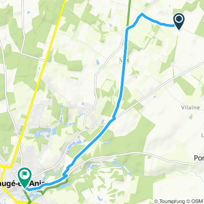 Easy ride in Bauge