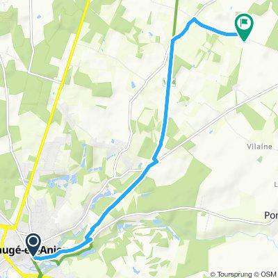 Slow ride in Bauge