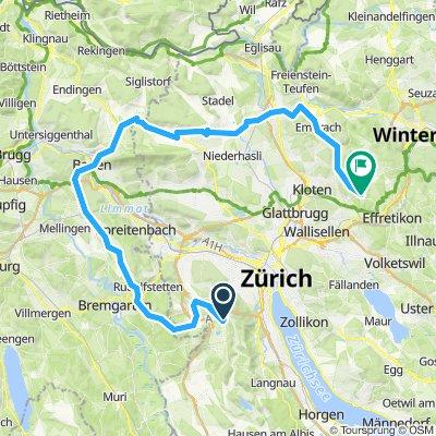 Wettswil-Nüeri--Nordroute