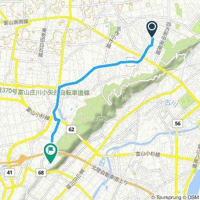 Easy ride in Toyama-Shi