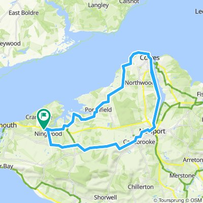 East Cowes and back