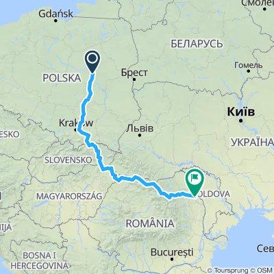 Europe Tour 2019 (Warsaw - Iași)