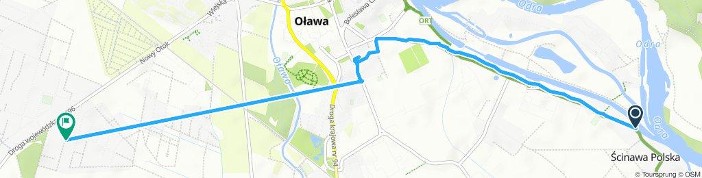 Easy ride in Olawa