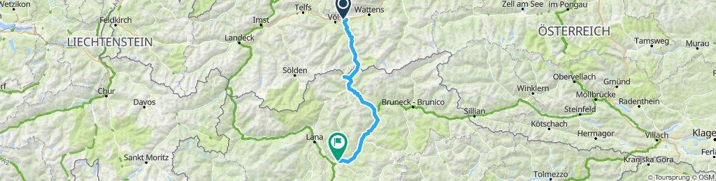 Alpen Tour 2020 2.Tag neu