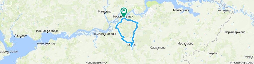 Нижнекамск - Заинск - Нижнекамск/план