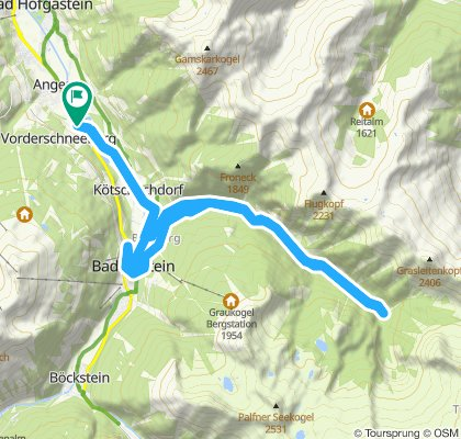 Bad Gastein und Alpenhaus Prossau