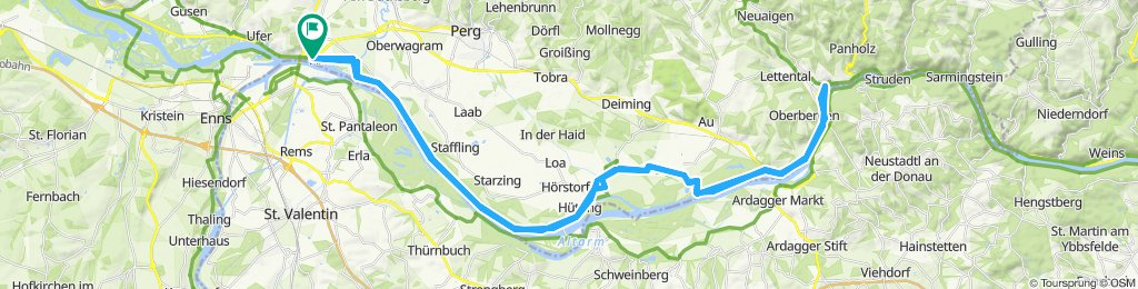 Mauthausen-Grein u retour
