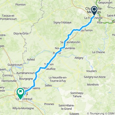 2019 Lille to Reims Day 3