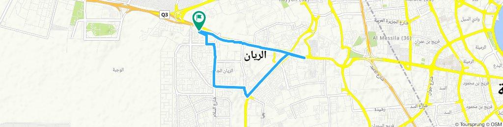 Slow ride in Al Rayyan