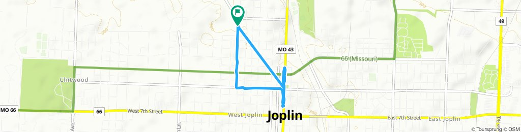Rode to 3rd Thursday in Downtown Joplin