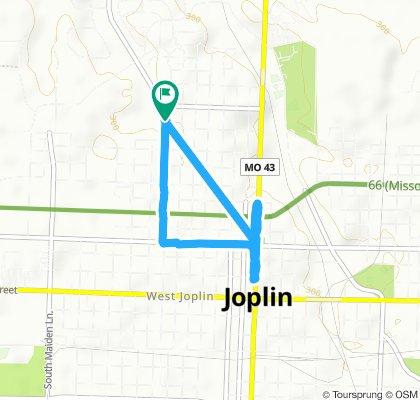 Rode to 3rd Thursday in Downtown Joplin