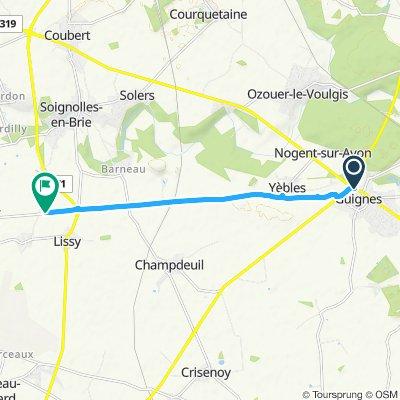 Route im Schneckentempo Info